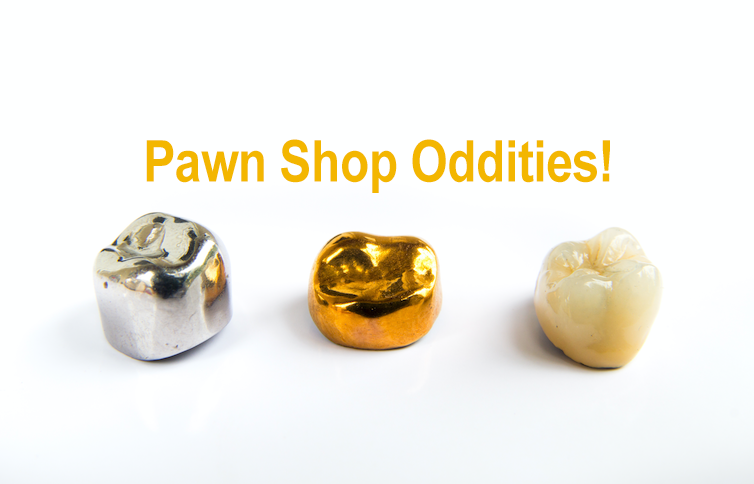 Check Out Some of the Weirdest Oddities Seen in Pawn Shops Over the Years