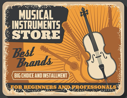 Musical Instrument Store Naples and Lehigh Acres, Florida