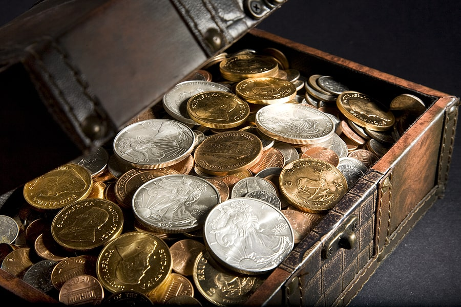 Coins, Coins, and more Coins! There is No Coin Shortage at First Pawn Jewelry and Loan!
